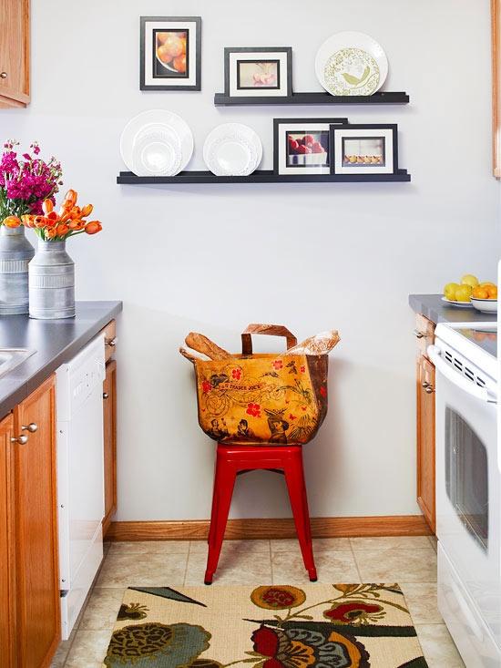 decoration petite cuisine contemporaine