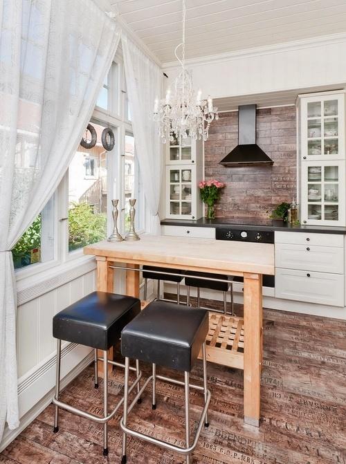 Id es am nagement petite cuisine architecte d 39 int rieur for Petite cuisine bois