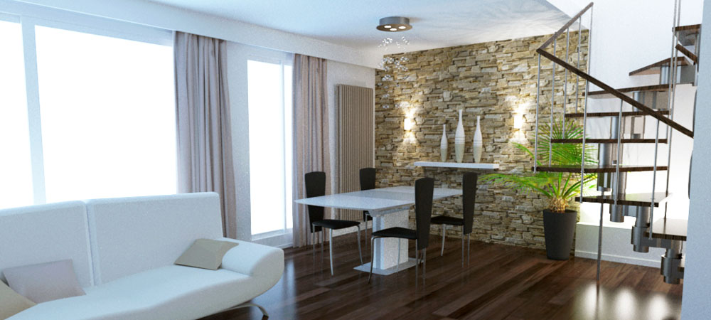 Amenagement interieur duplex appartement accueil design et mobilier - Am enagement appartement ...
