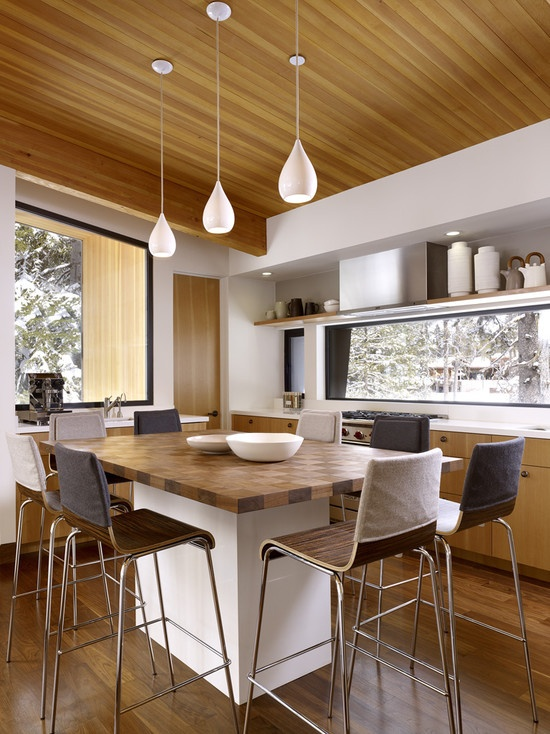 eat in kitchen lighting ideas id 233 es am 233 nagement cuisine architecte d int 233 rieur 8859